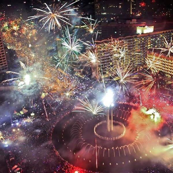 Bienvenida al 2015 en el mundo