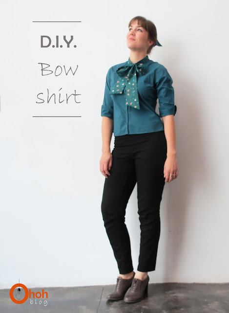 Customized bow shirt