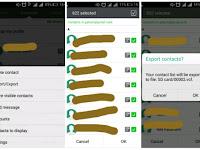 Cara backup kontak di Android
