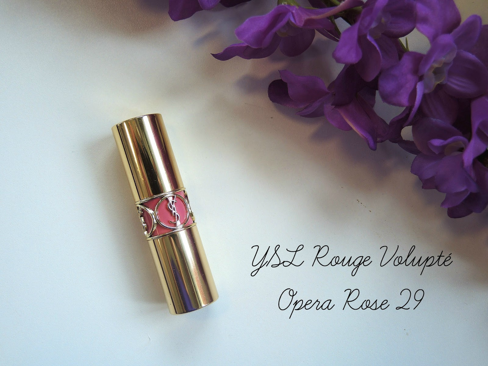 YSL Rouge Volupté Opera Rose #29