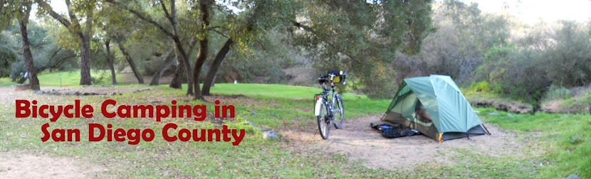 Bicycle Camping in San Diego County