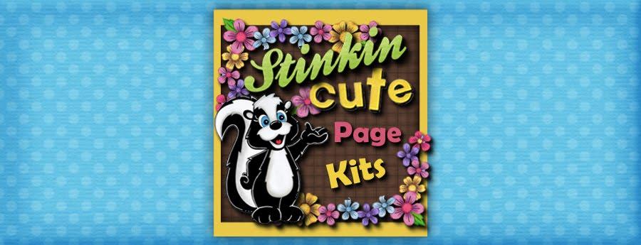 Stinkin Cute Page Kits