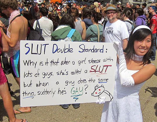Funny Protest Sign From Asian Girl.