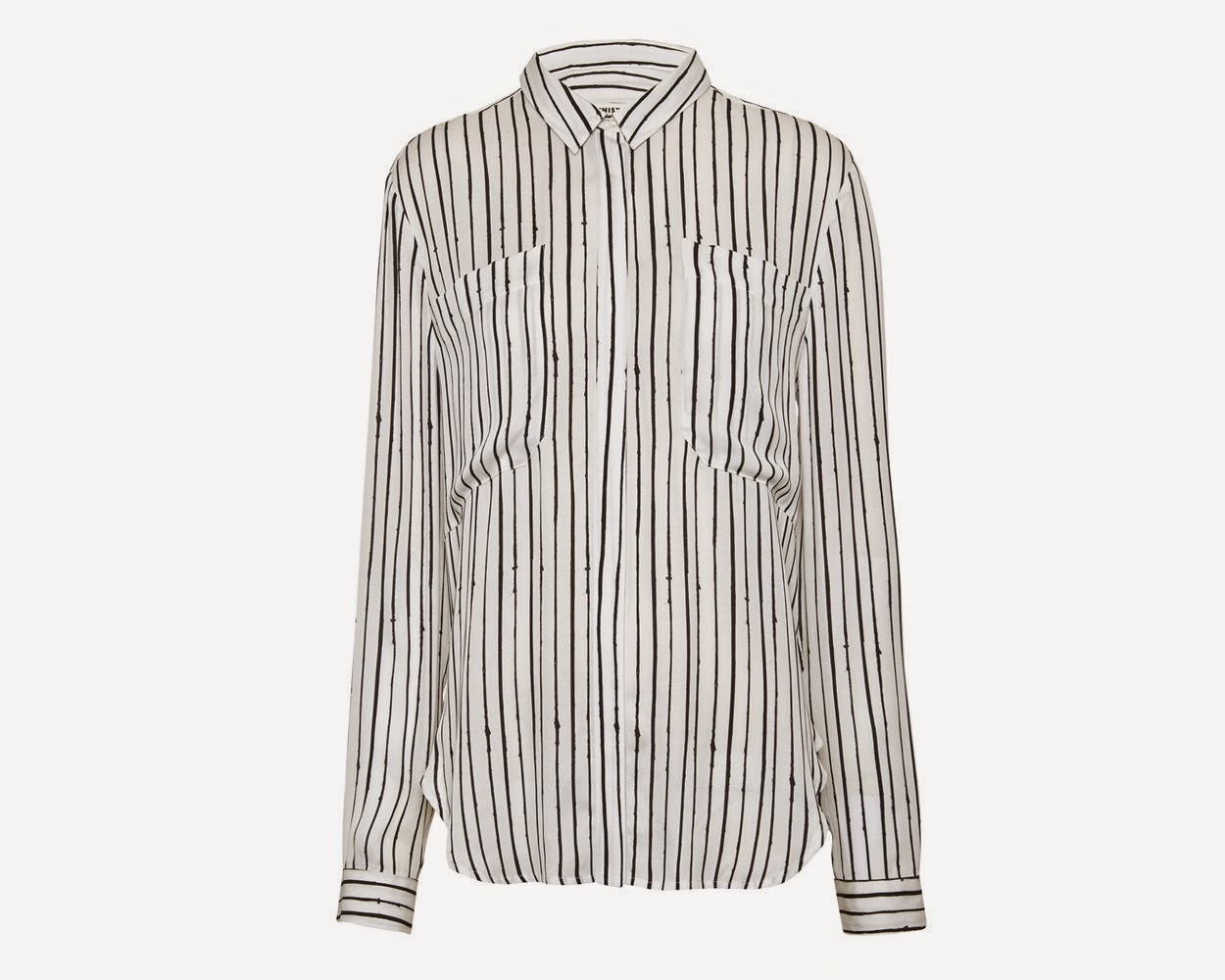 whistles striped shirt, whistles striped blouse,