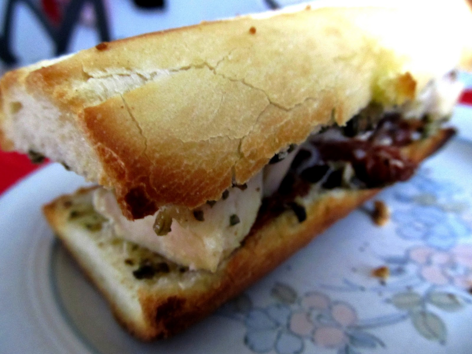 Lunch du mardi: Sandwich style méditérranéen