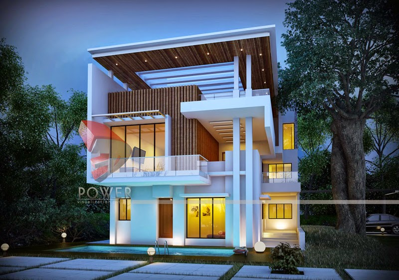 Stylish Bungalows modern-home-design: home exterior design, house interior design