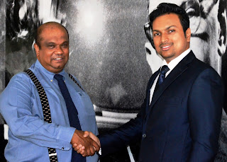 Dr. Hiran Hettiarachchi, Chairman of the Blue Mountain Group and Ranil de Silva, Managing Director, Leo Burnett (LBSI) announce their partnership