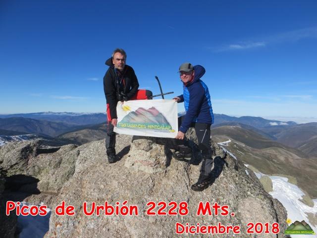 PICOS DE URBIÓN 2228 MTS.