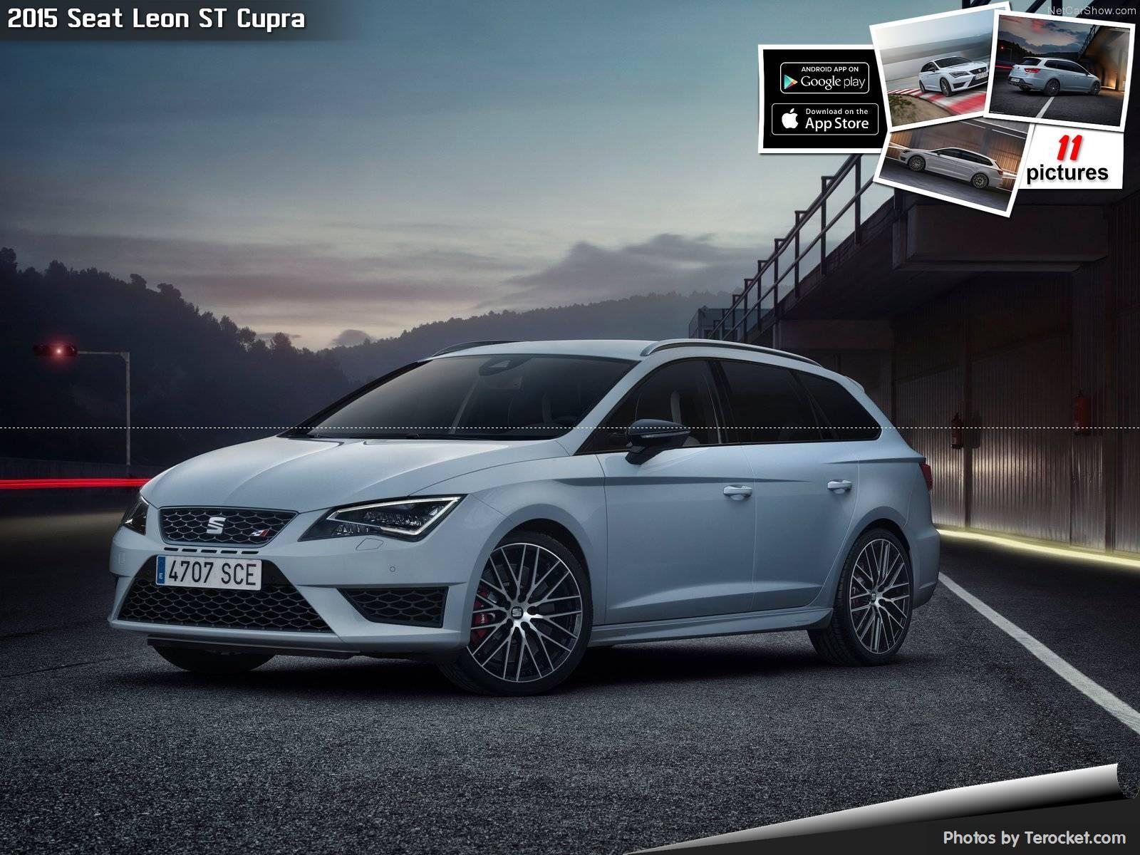 Hình ảnh xe ô tô Seat Leon ST Cupra 2015 & nội ngoại thất