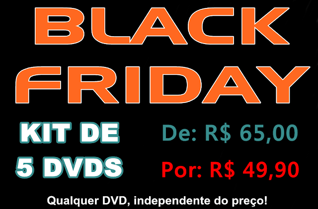 Black Friday no Dvds Sports