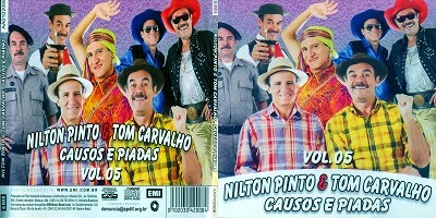Nilton Pinto & Tom Carvalho Causos E Piadas Vol.5 CD 2014