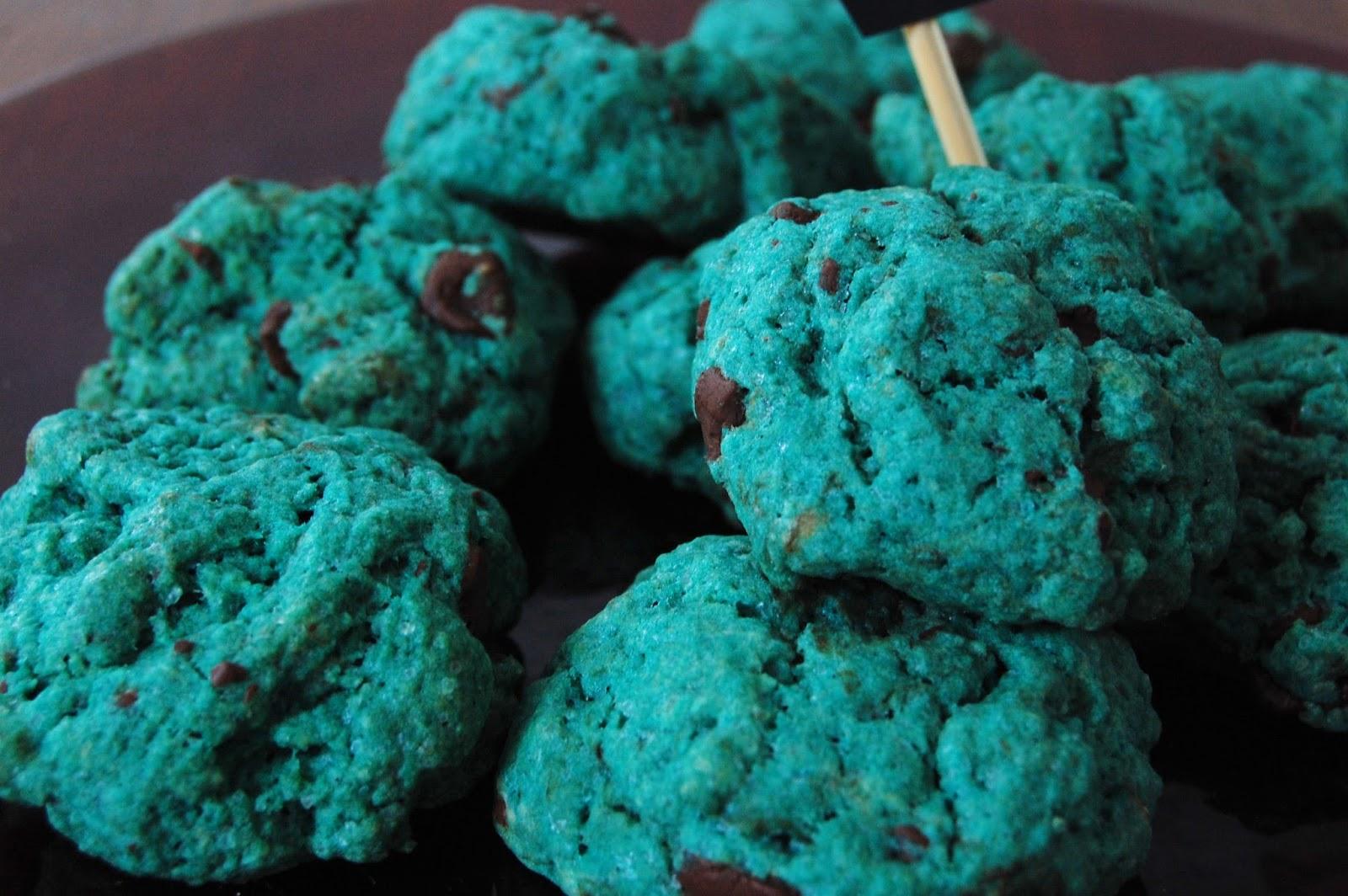 cena-comida-de-halloween-galletas-verdes