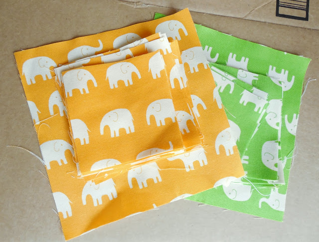 daiwabo elephants orange and green