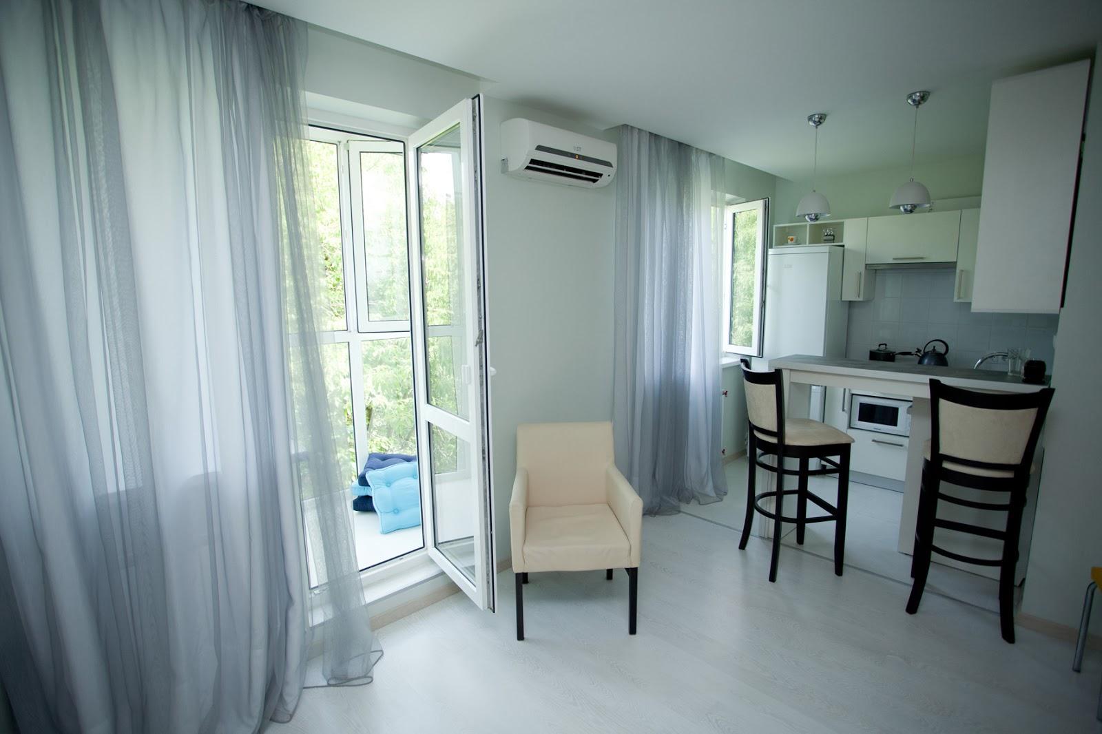 Дизайн интерьера и ремонт квартир: дизайн интерьера однокомн.