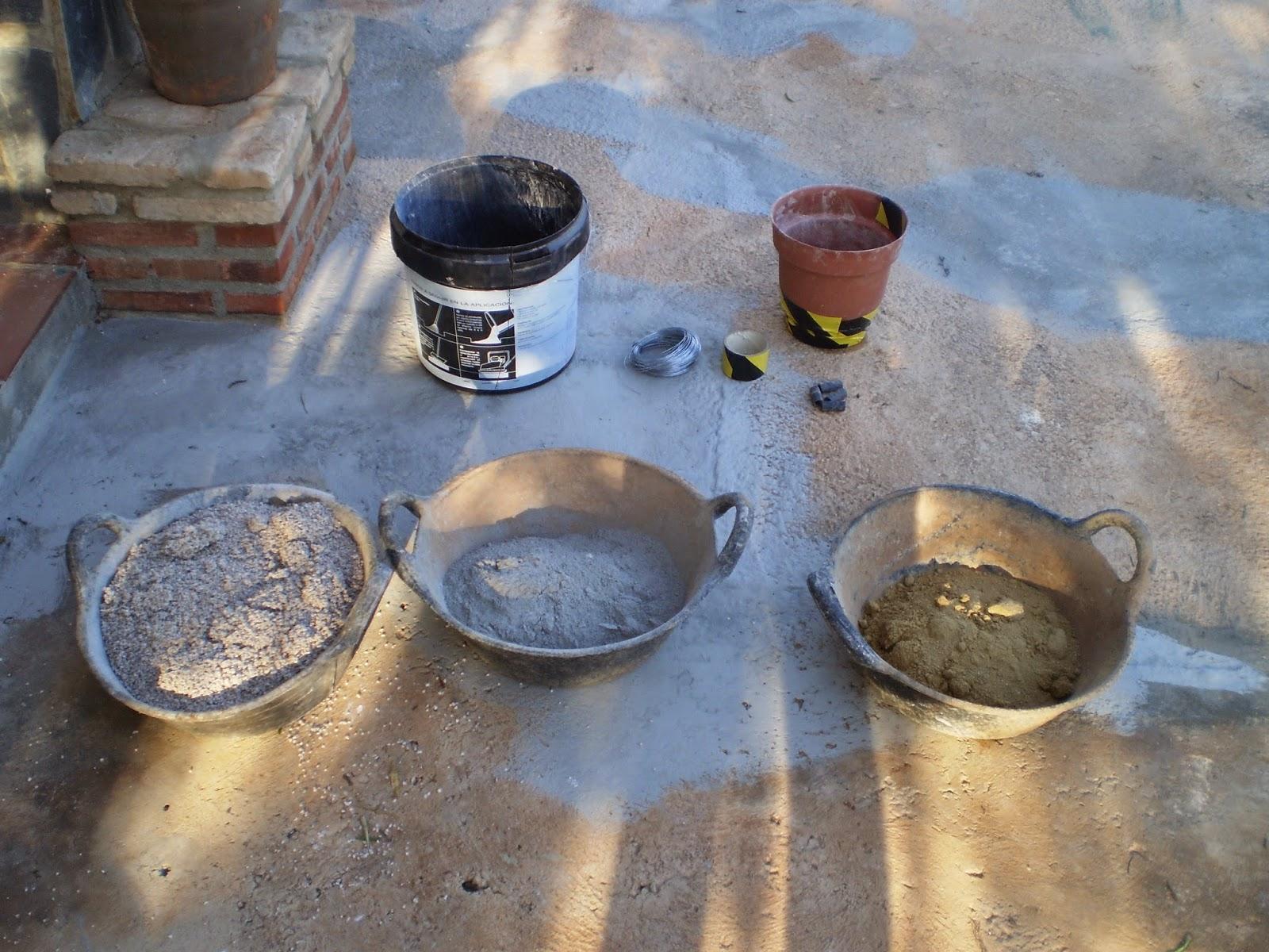 El blog de la elena un blog dulce divertido y - Como hacer cemento ...