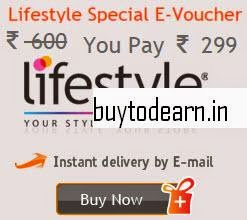 Gift Big: Buy Lifestyle Rs. 600 E-Voucher at Rs. 299
