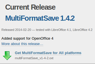 libre office save to pdf