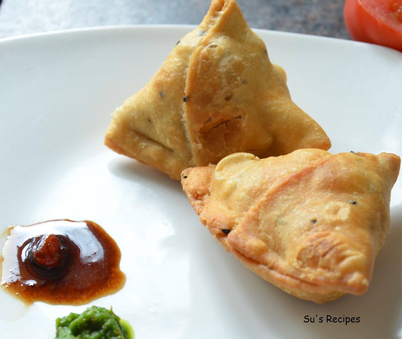 Su's Recipes: Mini Samosa and Potli Samosa