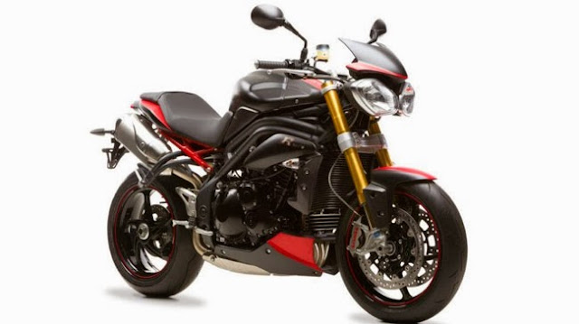 Triumph ra mắt Speed Triple R