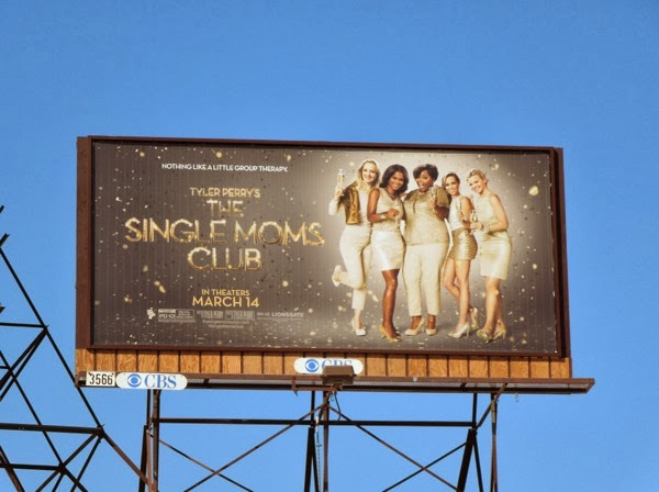 Tyler Perry Single Moms Club movie billboard