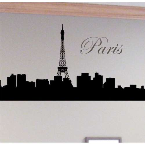 eiffel tower wall art decor paris room d cor luxury lifestyle design architecture blog by. Black Bedroom Furniture Sets. Home Design Ideas