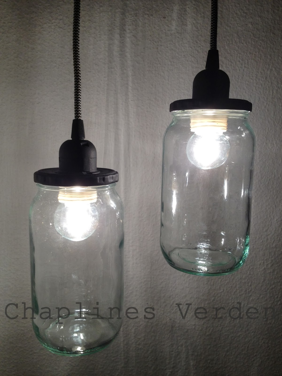 Chaplines verden: diy lamper
