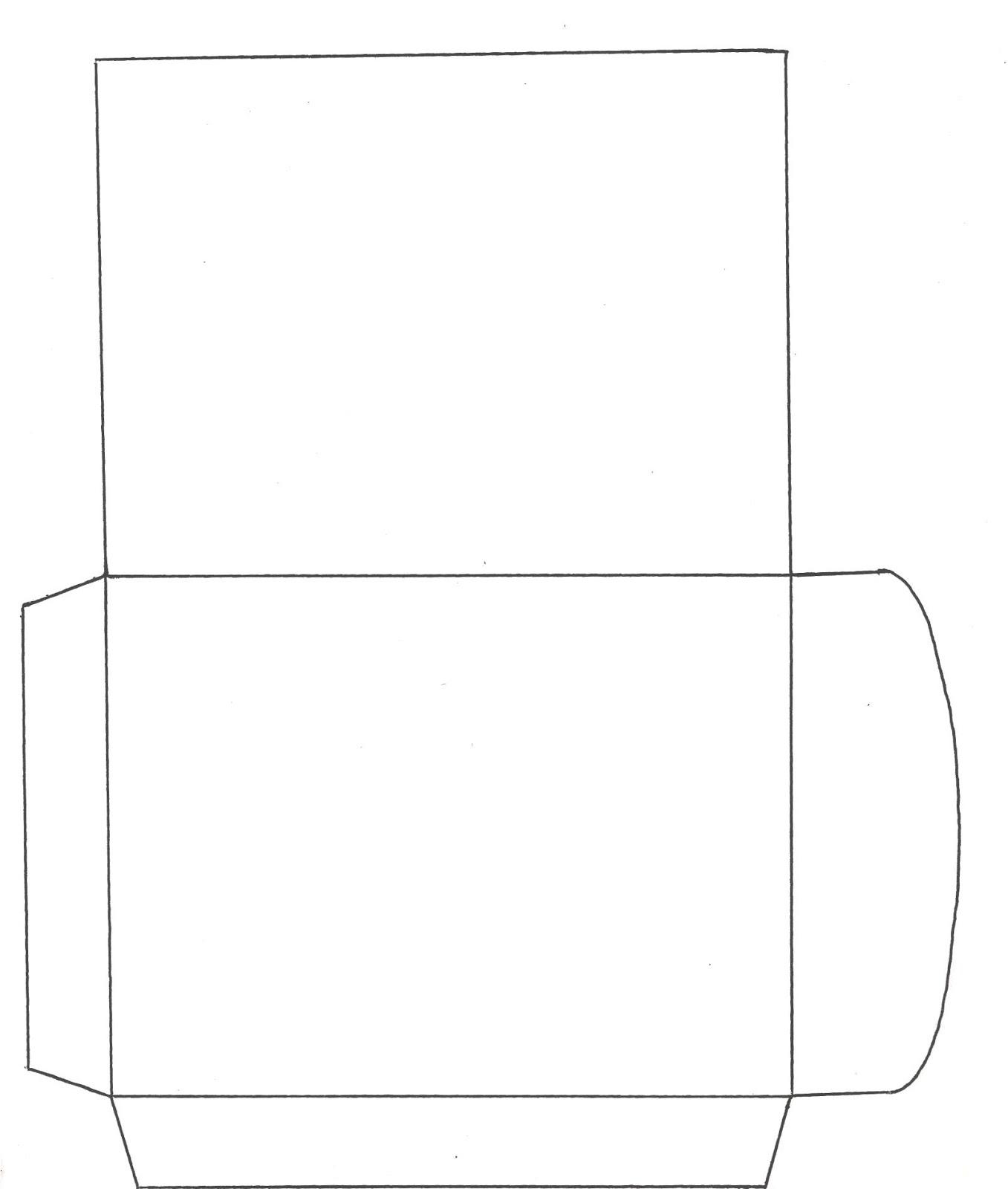 Populares AQUARELINHA: Moldes Envelopes EW29