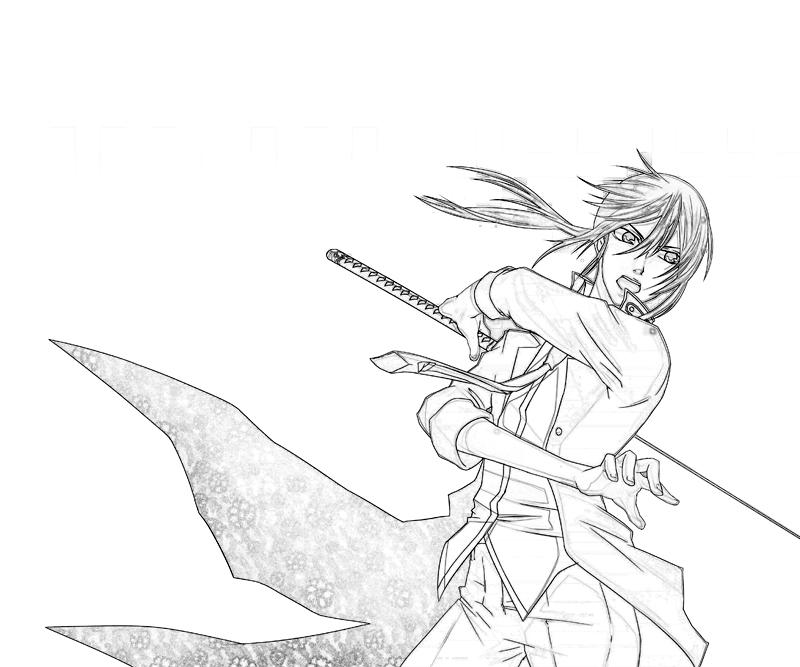 printable-kuroh-yatogami-attack_coloring-pages