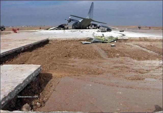 airplane crashed