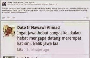 Video MP Langkawi Buat Onar Lagi Kali Ini Beliau Menghina Bangsa Jawa Tetapi Dia Lupa Menteri KDN Juga Jawa