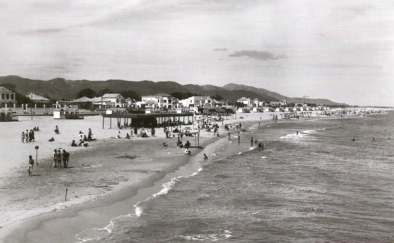 Els inicis del turisme a la platja de Gandia
