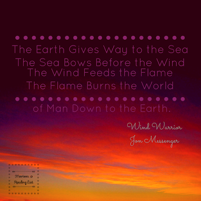 Wind Warrior Quote  by Jon Messenger    Feature on Reading List