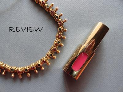 REVIEW: L'Oreal Paris Color Riche Extraordinaire Liquid Lipstick in 201 Rose Symphoy image