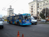 реклама на электротранспорте Запорожье