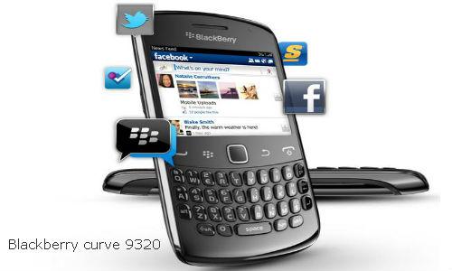 BlackBerry 9320 Curve user manual