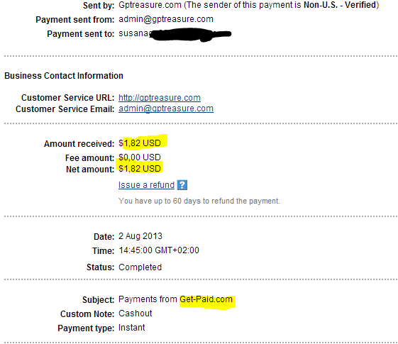 how to get paid online through paypal
