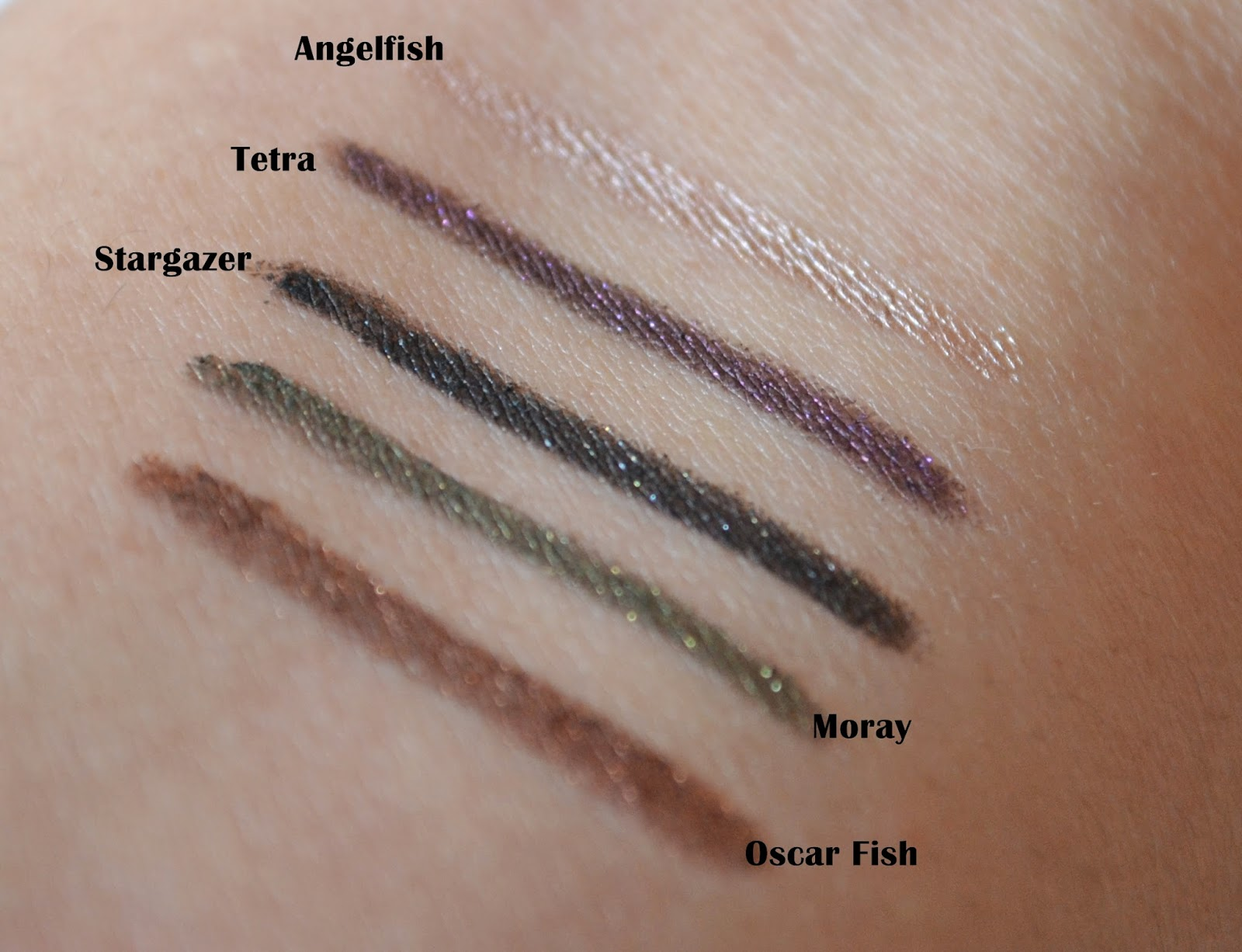 Stila Smudge Stick Waterproof Eyeliners | Review & Swatch | Aspiring ... M Fish Packaging