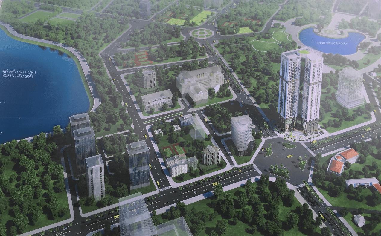 Phối cảnh Golden Park