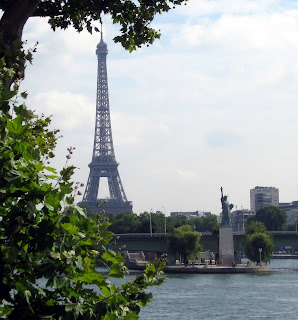 Replica Statue of Liberty in Paris, on the Isle des Cygnes