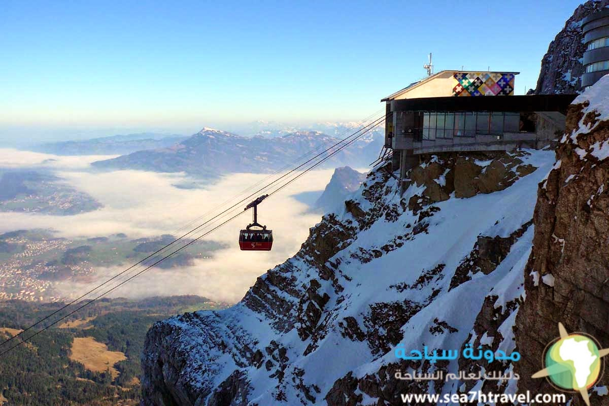جبل بيلاتوس الساحر في سويسرا Mt Pilatus