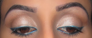 blue, eyeliner, winged, neutral, color, beyonce, urband decay, naked, 1, 2, buck, virgin 3