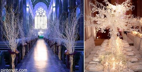 Almudena 39 s dream wedding ideas bodas en invierno for Decoracion invierno