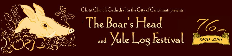 The Boar's Head and Yule Log Festival Blog