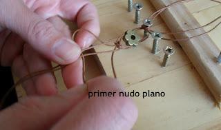 como hacer una pulsera de nudos DIY pulsera de moda, moda primavera verano 2013, pulsera fácil, pulsera de macramé, tendencia, trendy, cool, crafting crafter, nudos, nudo celta