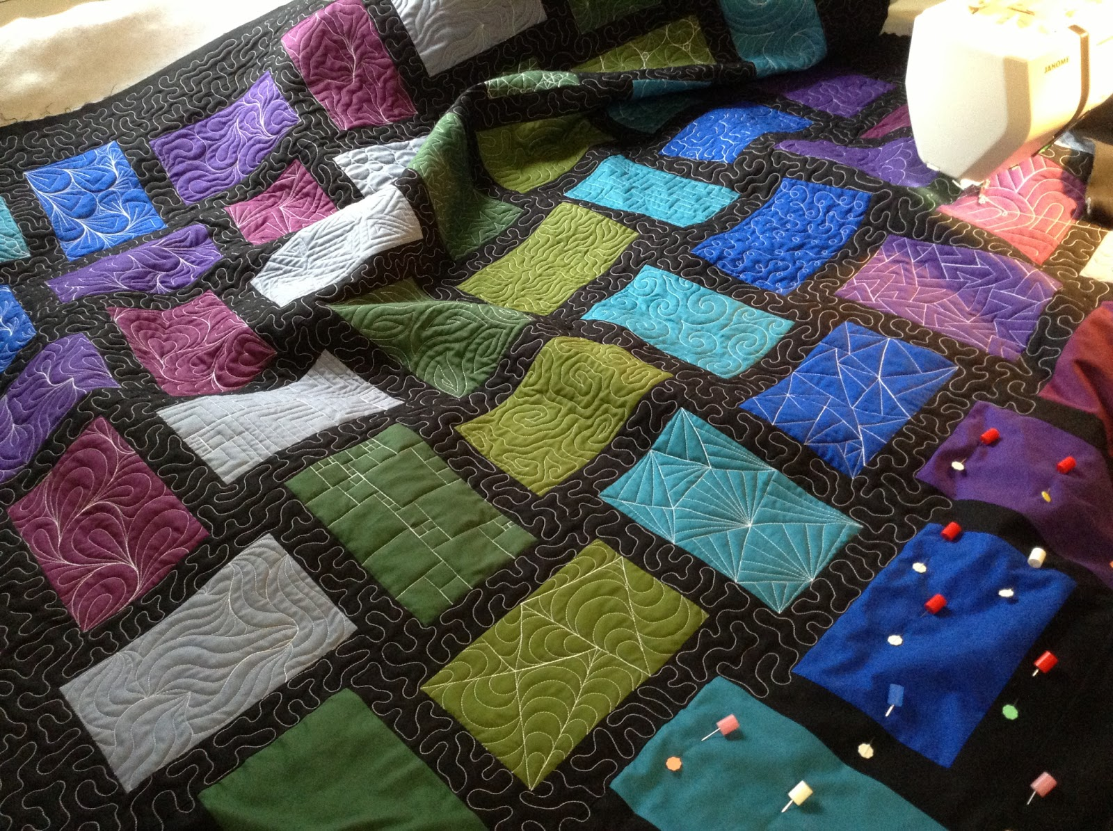 Free Motion Quilting Patterns For Blocks : The Free Motion Quilting Project: Take a Class