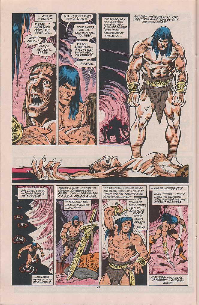 Conan the Barbarian (1970) Issue #253 #265 - English 18