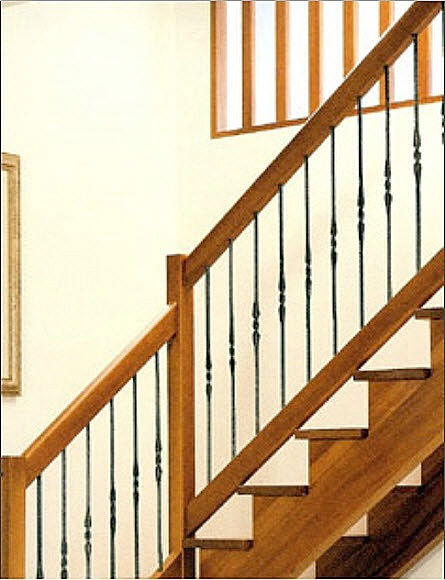 Cerrajeria ramajo barandas de hierro para escaleras - Barandas de madera para escaleras ...