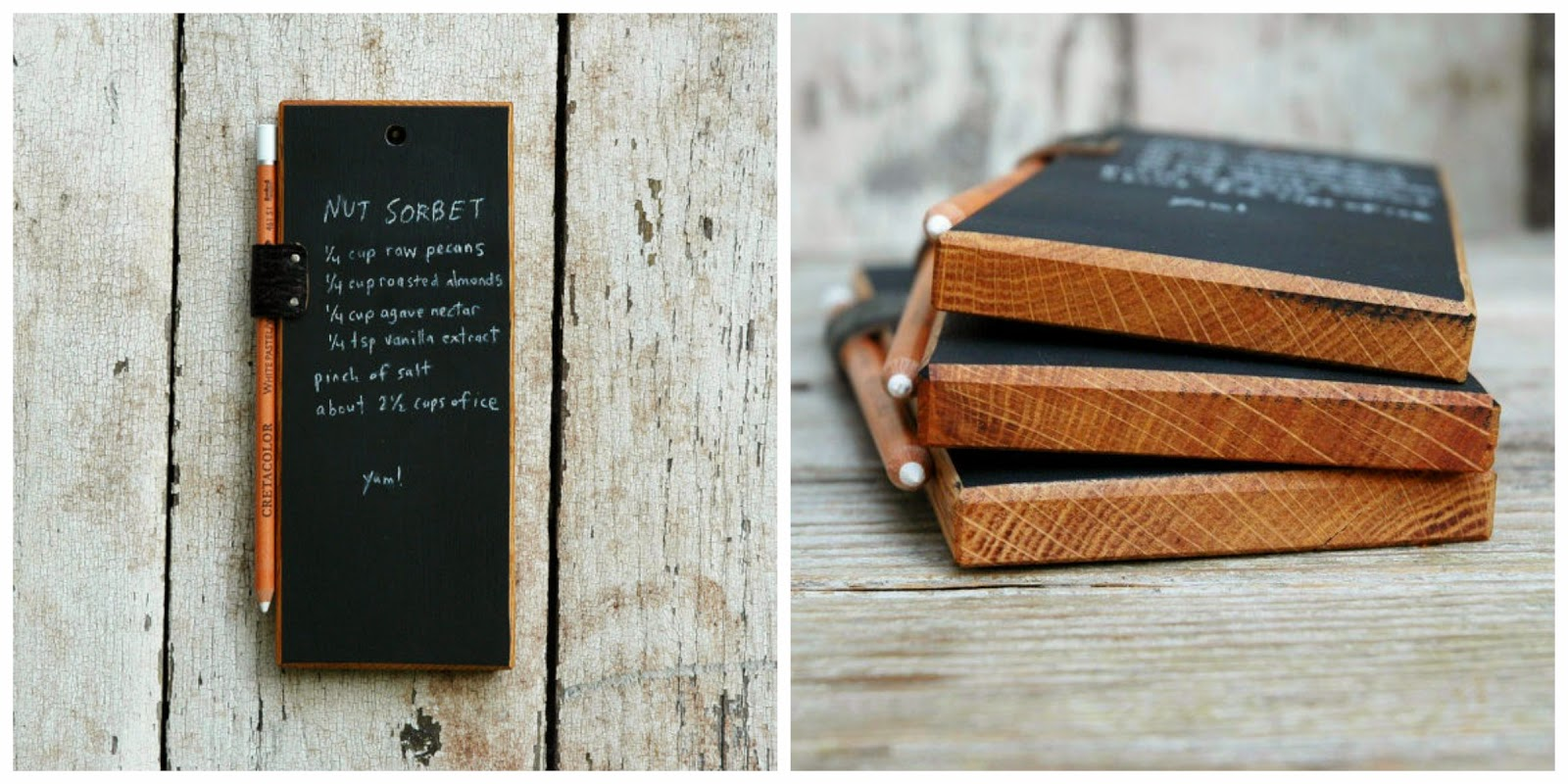 Peg and Awl Chalkboard Tablet