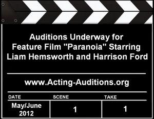 New York Philadelphia Auditions Casting Paranoia