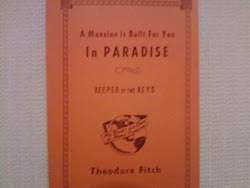 A Mansion Is Built For You In Paradise - Theodore Fitch